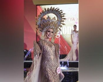 Regional Costume competition during Mutya Ng Pilipinas 2017 at Resorts World Manila