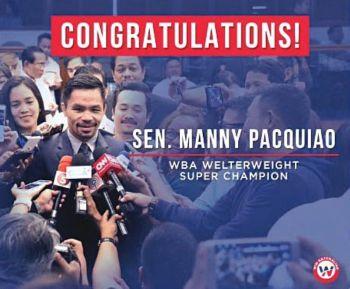 Manny Pacquaio / Twitter