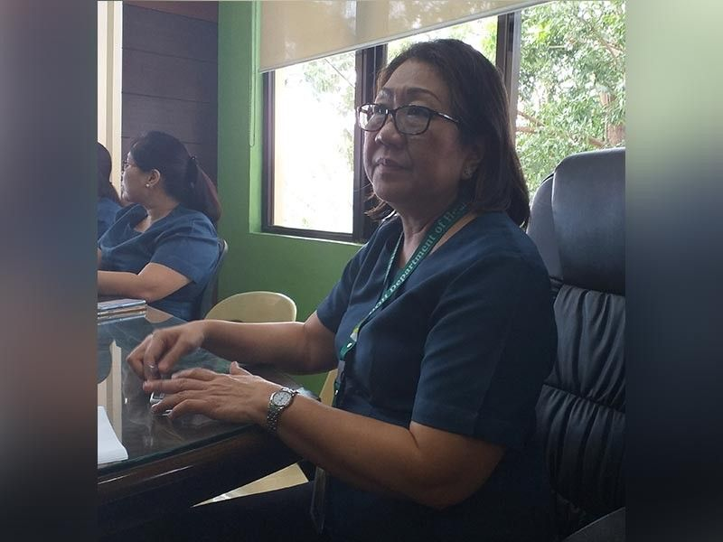 ILOILO. Department of Health-Western Visayas Director Marlyn Convocar in a press conference Monday, July 22, 2019. (Carolyn Jane Abello)