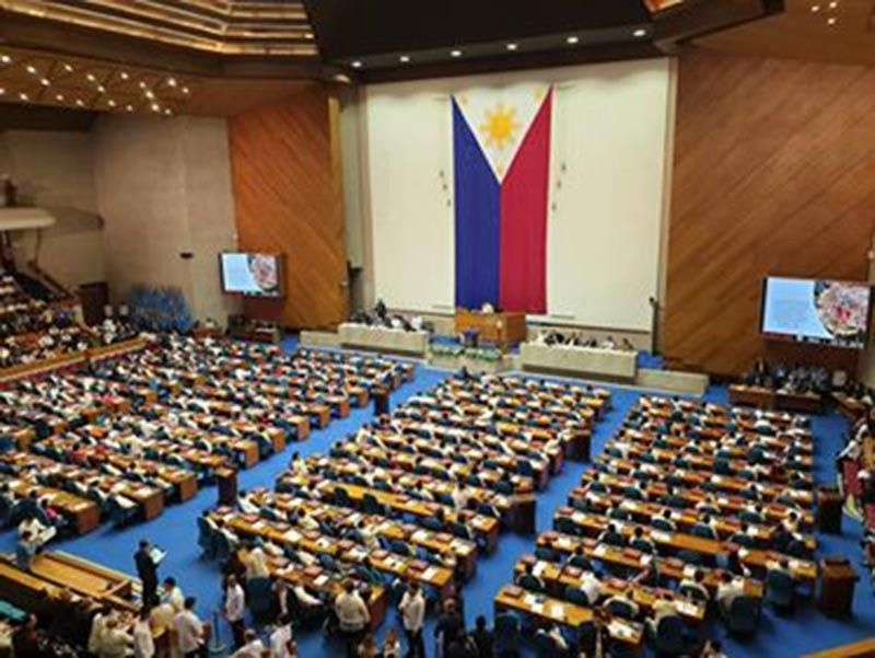 BACOLOD. President Rodrigo Duterte delivers his fourth State of the Nation Address (SONA) at the Joint Session of the 18th Congress at the Plenary Hall of the House of Representatives on July 22, 2019. Carla N. Cañet)