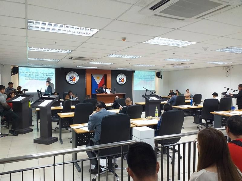Councilor Alan Zaldivar spoke at the Iloilo City Council's regular session regarding his anti-dengue campaign and city-wide clean up at the Session Hall of City Hall on Tuesday, July 23, 2019.