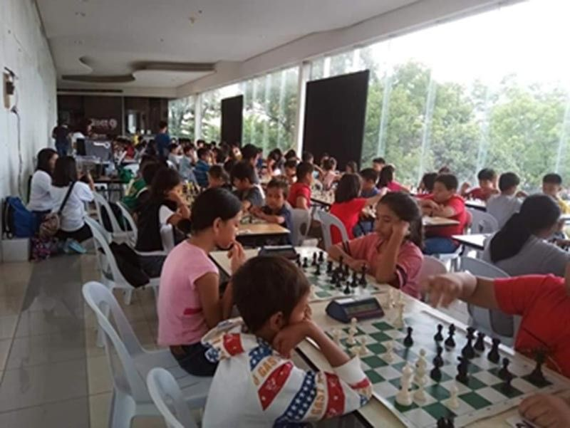 CAGAYAN DE ORO. Around 140 children in elementary and secondary levels have participated in the first ever Chessmoms tourney held recently at the Limketkai Mall, Cagayan de Oro. (Contributed photo)