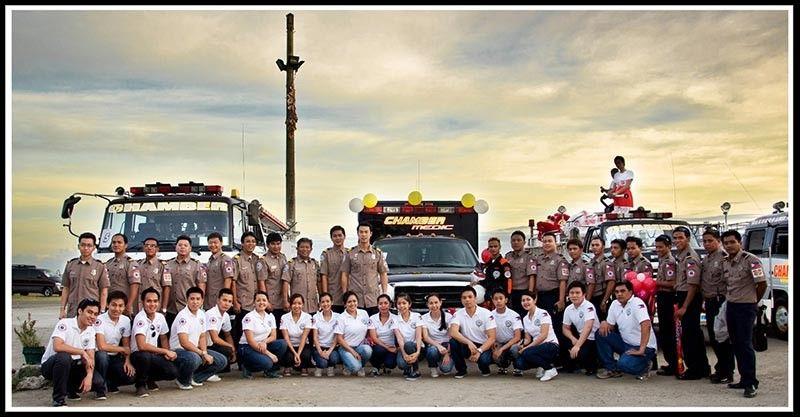 TACLOBAN. The men and women of the Tacloban Chamber Volunteer Fire Brigade Association Inc. (Contributed photo)