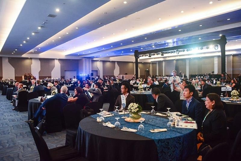 DAVAO. One of the international conferences held in Davao City this year, the 5th Davao City Investment Conference attended by hundreds of local and foreign businessmen. (Photo from Davao Investment Conference 2019 Facebook Page)