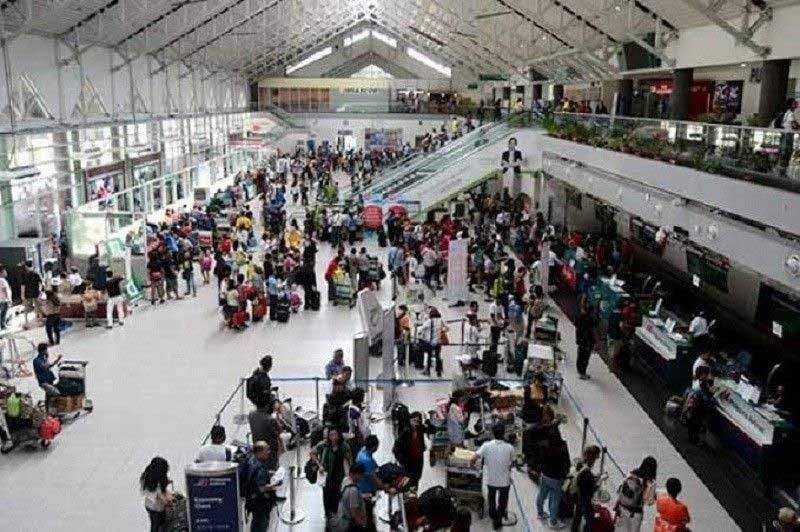 Davao City has recorded a total of 2.27 million domestic and international passenger volume in the first half of the year. SunStar File Photo