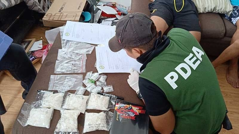 BACOLOD. Suspected shabu (methamphetamine hydrochloride) worth P4.4 million recovered in a raid conducted Thursday, July 25, 2019 by joint PDEA-Western Visayas, NOCPPO, Talisay PNP operatives in Talisay City. (Photo by PDEA-Western Visayas)