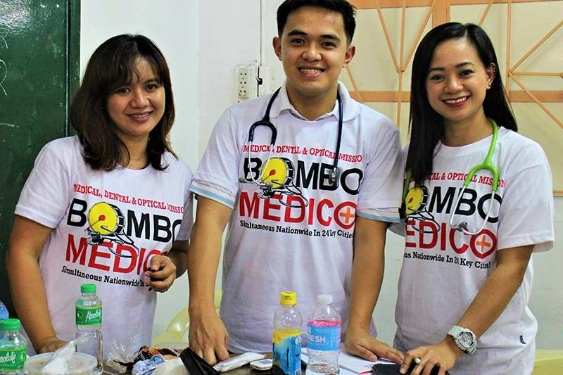 Bombo Medico 2019. An annual medical, dental and optical mission by Bombo Radyo Philippines and Star FM. (Photo by Osharé)