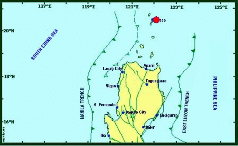 Map of Negros Oriental (Phivolcs)