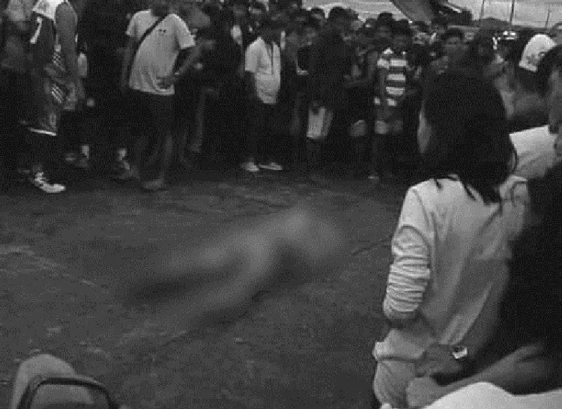 NEGROS ORIENTAL. Usa ka lalaki ang gipusil-patay sa Barangay Panubigan, Dakbayan sa Canlaon, Negros Oriental pasado alas 3 sa hapon, Dominggo, Hulyo 28, 2019, ang ika-17 nga biktima sa sunod-sunod nga insidente sa pagpamusil-patay sa maong probinsya.(Hulagway iya kang Jason Traje)