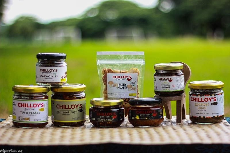 Chilloy's Gourmet products (Photo from Grace Sebanes)