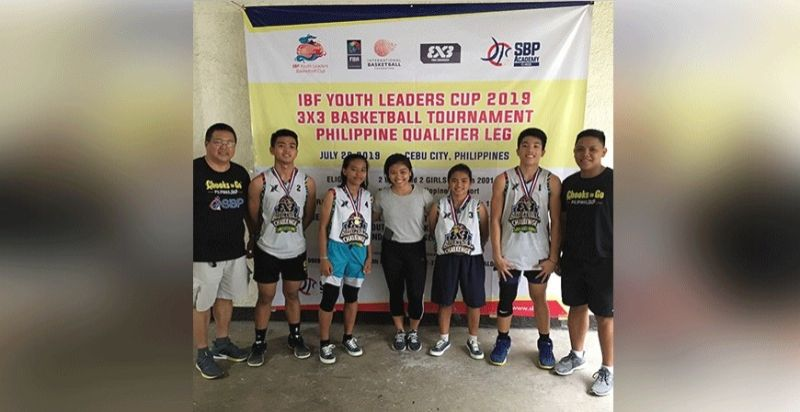 ALL SMILES. The Sisters of Mary Schools 3x3 basketball team  will be going to Bali, Indonesia after winning the IBF Youth Leaders Cup 3x3 Basketball Tournament.  (Contributed Photo)