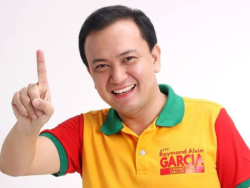Cebu City Councilor Raymond Garcia (Photo grabbed from Garcia's Facebook)