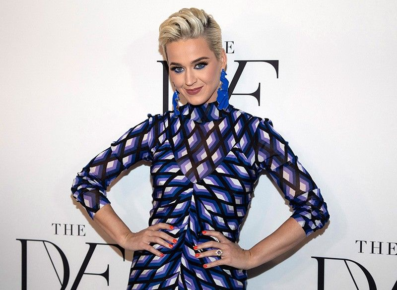"""NEW YORK. This April 11, 2019 file photo shows Katy Perry at the 10th annual DVF Awards at the Brooklyn Museum in New York. A jury has found that Perry's 2013 hit """"Dark Horse,"""" copied a 2009 Christian rap song. The nine-member federal jury in Los Angeles returned the unanimous verdict Monday, July 29, 2019. (AP)"""