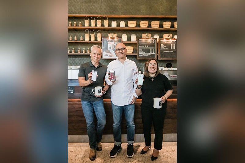 BOTTY founder and developer Cary Gee, president and chief executive officer of WS & Landin Inc. Steve D. Benitez and Bo's Coffee chief operating officer Rachel Fallarme. (Contributed Photos)