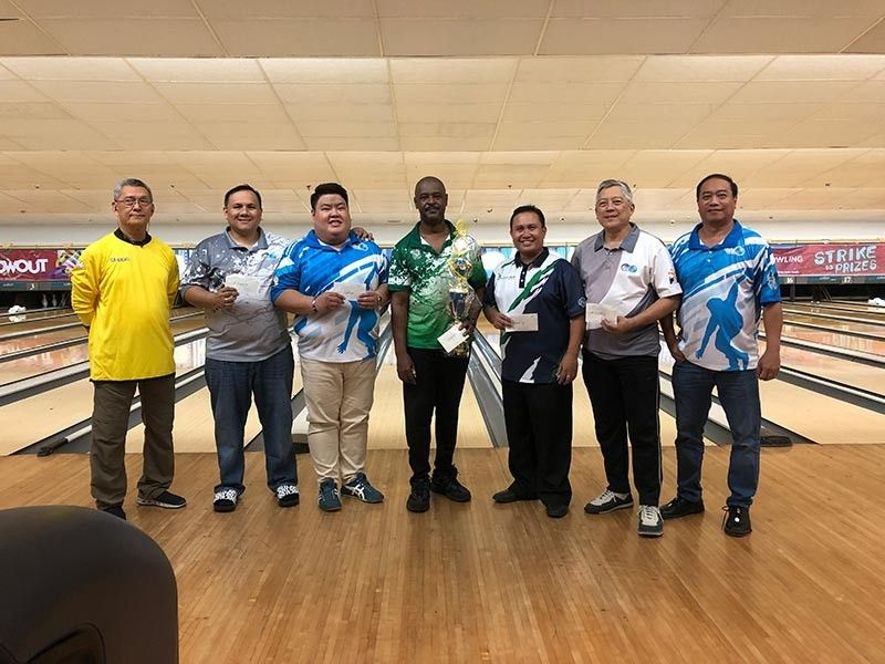 JULY'S BEST. Terrence Williams (center) poses for a photo after winning  the Cetba July title. Also in the photo are the Top 5 players and officers of Cetba.   (Contributed Photo)