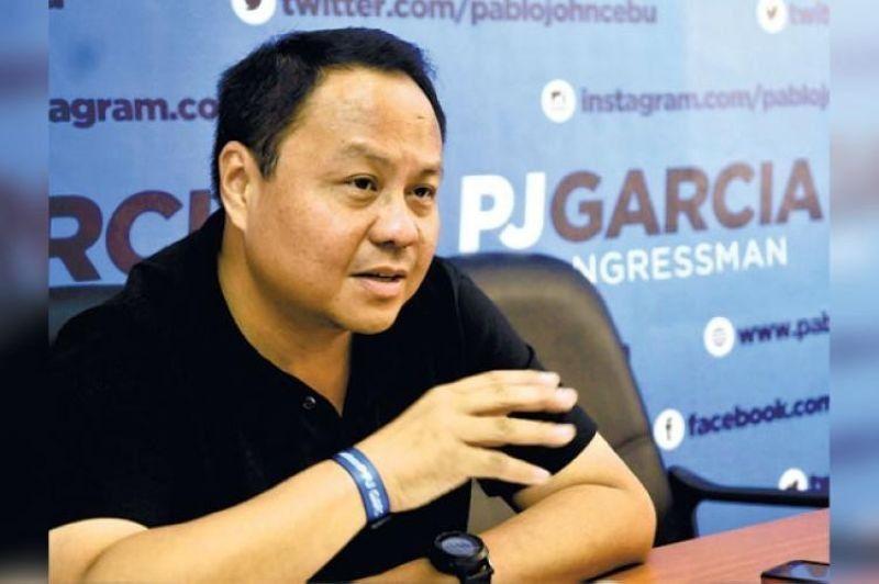 "CEBU. Representative Pablo John ""PJ"" Garcia. (SunStar File)"