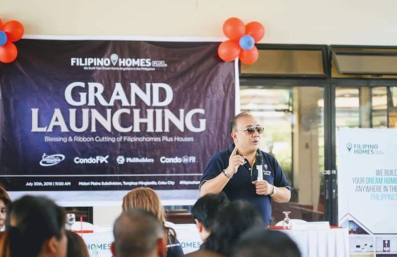 NICHE MARKET. Filipino Homes founder and chief executive officer Anthony Gerard Leuterio discusses the income opportunities of Filipino Homes Plus with its network of real estate agents. Leuterio says they have diversified into custom-made housing services to help overseas Filipino workers achieve their desired dream houses. (Photo grabbed from Anthony Leuterio's facebook page)