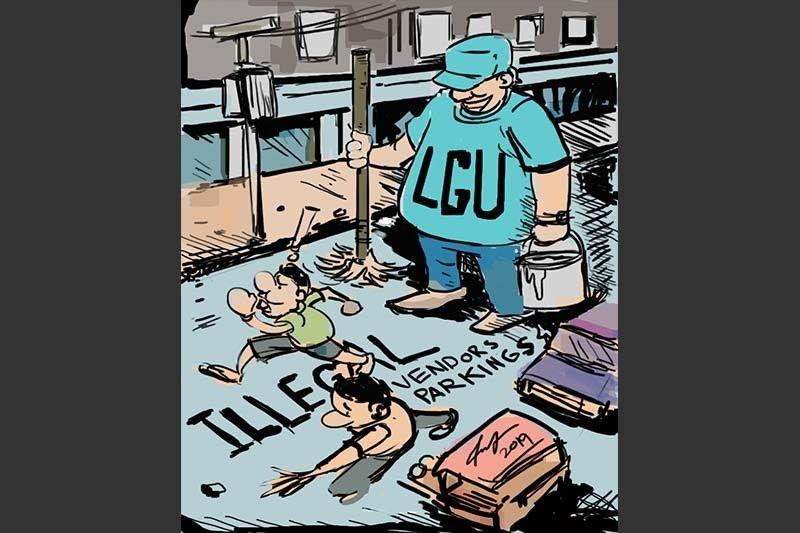 Editorial Cartoon by Enrico P. Santisas