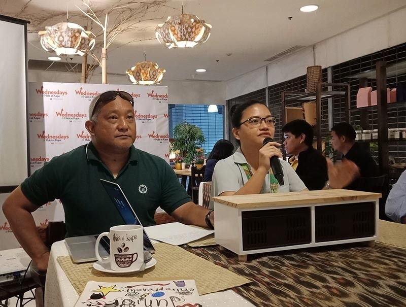 DAVAO. Sanctuary Workshops and Trainings chief-of-operations Amanda Fe Echevarria said local artists in Davao City are lacking market for their art works. (Photo by Lyka Casamayor)