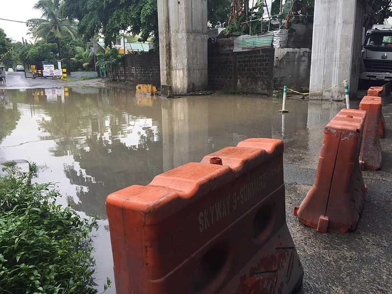 MANILA. A portion of Araneta Avenue in Metro Manila is not passable on Friday, August 2, 2019. (Contributed Photo)