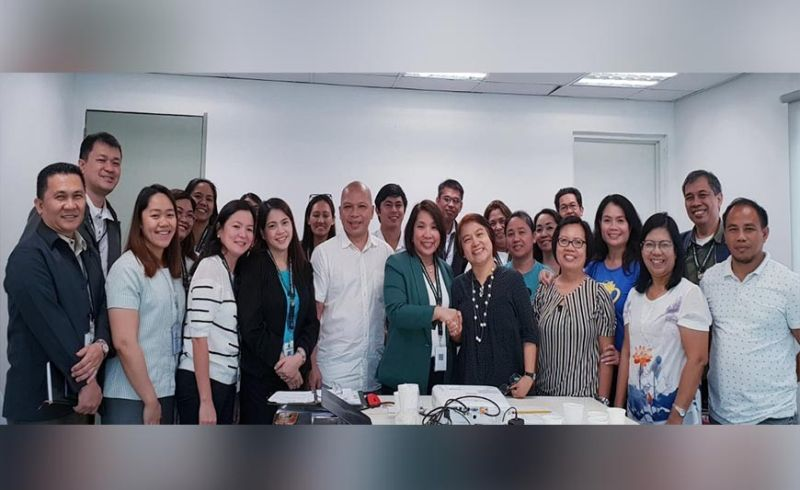 BACOLOD. Officials and representatives of the Land Bank of the Philippines (LBP) and Philippine Crop Insurance Corp. with the personnel of the Office of the Provincial Agriculturist during the coordination meeting held at LBP-Gatuslao Office in Bacolod City earlier this week. (Contributed Photo)