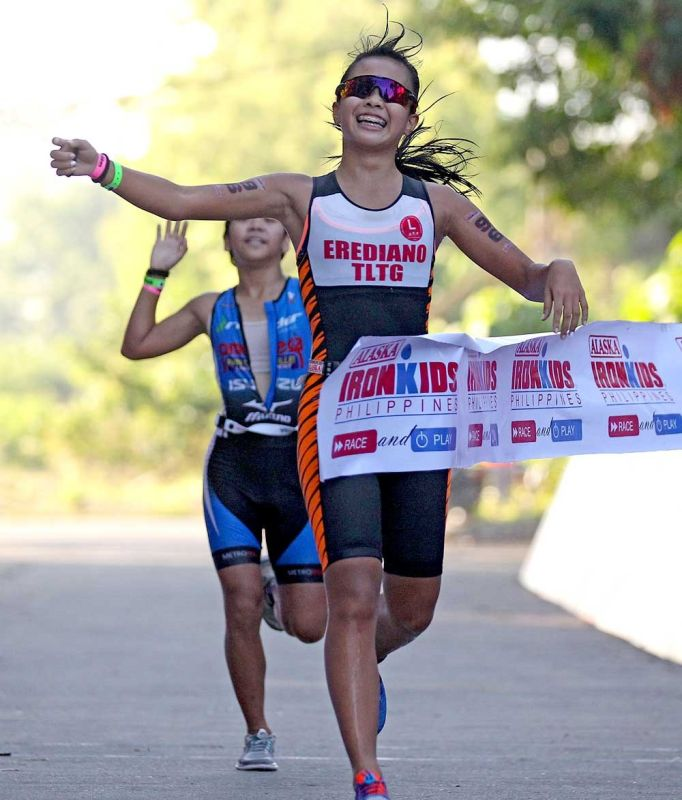 TWO IN A ROW. Cebuana Moira Frances Erediano is one of the favorites to win a title in the IronKids competition on Aug. 10. (Contributed foto)