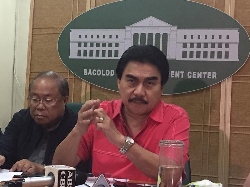 Mayor Evelio Leonardia. (SunStar Bacolod File Photo)