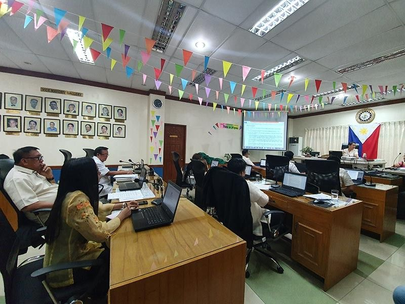 KALIBO. Members of the Kalibo Municipal Council hold their regular session Monday, August 5, 2019. (Jun N. Aguirre)