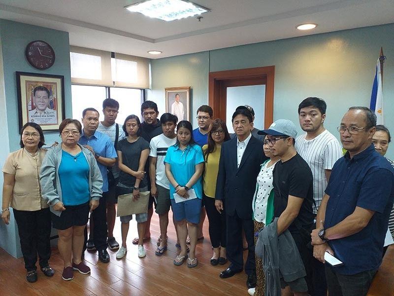ILOILO. Survivors of the Iloilo-Guimaras sea mishap receive financial assistance from the Iloilo City Government Tuesday, August 6, 2019. (Carolyn Jane Abello)