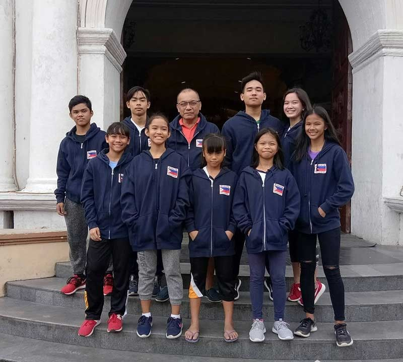 MALAYSIA-BOUND. Members of the Sports Karatedo Organization of Mandaue City hope to bring home gold medals when they compete in the  Shureido Cup Karate championships in Malaysia. (Contributed photo)