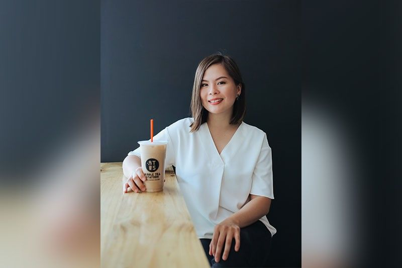 NEVER GIVE UP. Had she quit early on, Melissa Ann Lim-Young would miss the chance to see how Bubble Tea Station would become a strong local bubble tea brand competing head on with foreign bubble tea players. (Contributed photo)