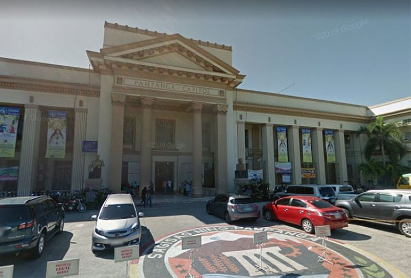 PAMPANGA. The Pampanga Provincial Capitol building. (Screenshot from Google Street View)