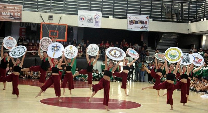BAGUIO. In this file photo, the University of the Philippines–Baguio dances render a number during the opening of the Baguio–Benguet Educational Athletic League (BBEAL) last year. The 33rd season of the BBEAL opens on October 4 with Kings College of the Philippines taking a leave of absence. (SSB file photo)