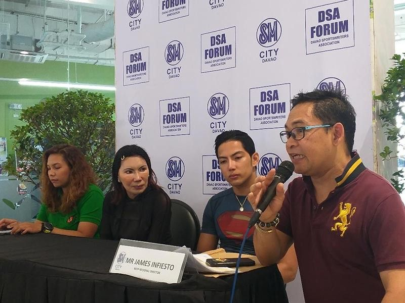 DAVAO. National Chess Federation of the Philippines (NCFP) regional director James Infiesto, right, bares details of the two chess tournaments set Saturday, August 10, 2019. He is joined by other DSA Forum guests from left Clarice Jane Calolot, Jeanette Ortiz and Ezekiel Vargas. (Marianne L. Saberon-Abalayan)