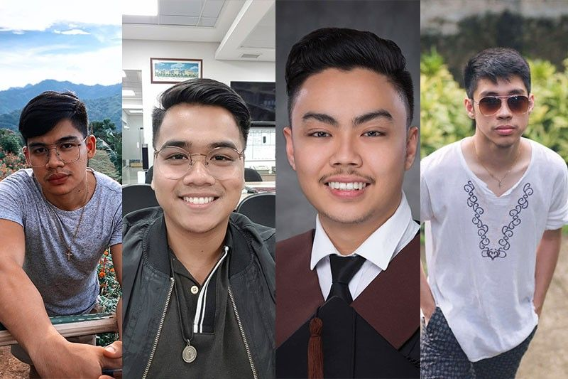 From left: Darrel Justin Cruz, Miko Angelo Balverde, Manuel Siaotong, Al Matthew Yu