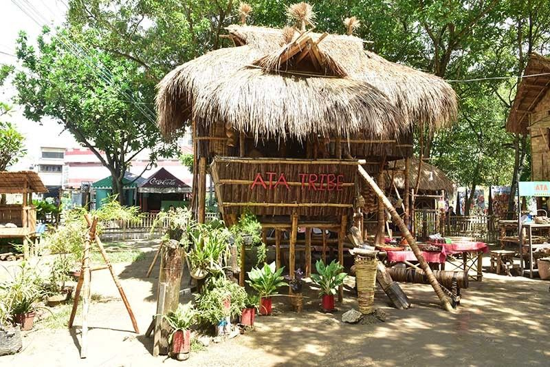 DAVAO. One of the humble yet stirdy house of the Ata tribe. (Photo by Macky Lim)