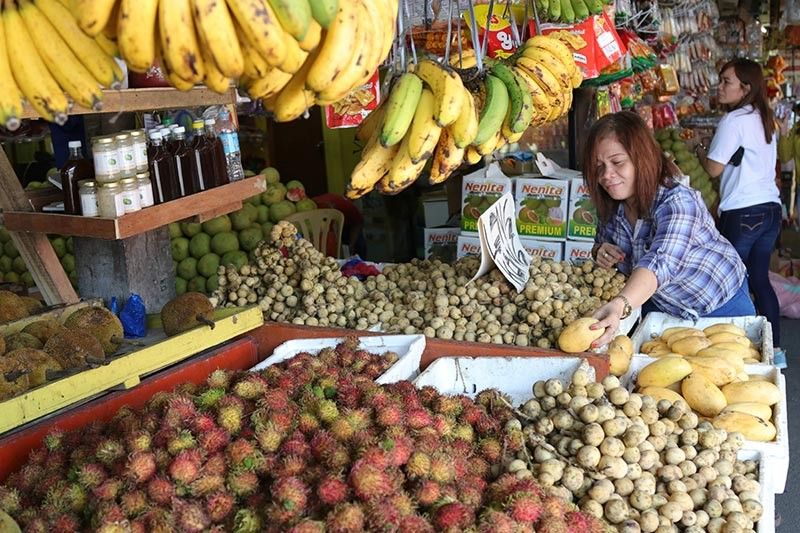 "DAVAO. Prices of durian, mangosteen, and other fruits tagged as ""Kadayawan fruits"" are expected to continue decreasing. (Photo by Mark Perandos)"