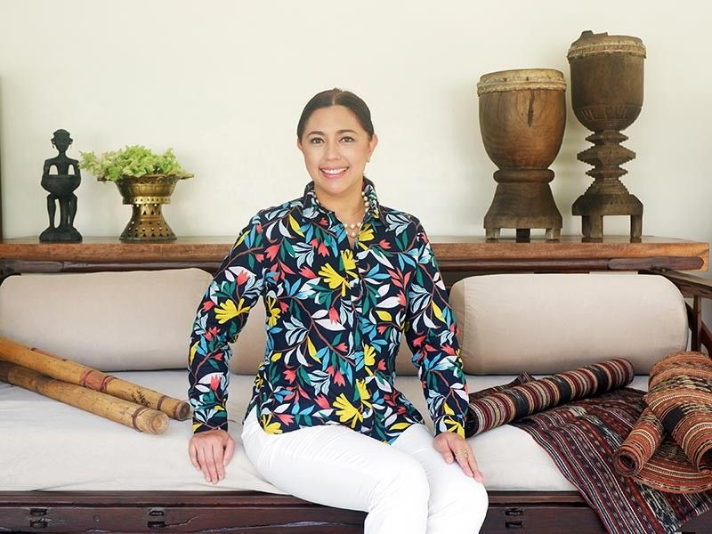 "DAVAO. ""I believe tourism is also about the experience of immersing oneself with the local culture."" On Tanya: M&S Collection ensemble"