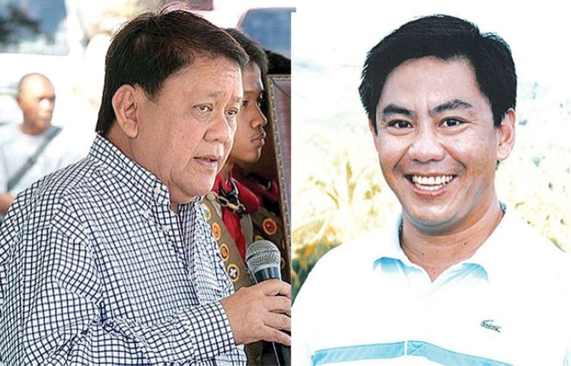 CEBU. Former Cebu City mayor Tomas Osmeña and Lapu-Lapu City Mayor Junard Chan. (SunStar File)