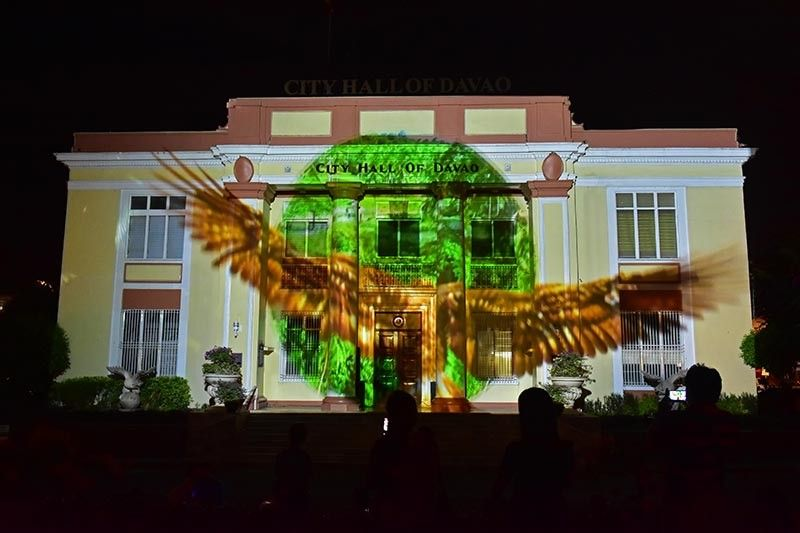 DAVAO. Facade of the Davao City Hall. (Macky Lim)