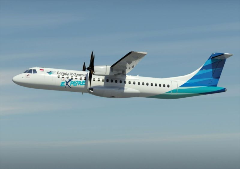 REVIVAL. Garuda Indonesia will be operating the Davao-Manado air link with the 70-seater ATR 72-600. Indonesian Consul-General Dicky Fabrian revealed that the airline will serve the air link by the end of September this year. (ATR photo)