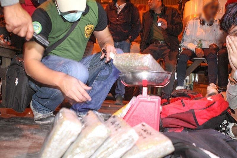 BAGUIO. Following the continued buy bust of illegal drug pushers and couriers in Baguio City and Cordillera region, Baguio City Mayor Benjamin Magalong urged PDEA to report true state of illegal drugs in the region. (Photo by Jean Nicole Cortes)
