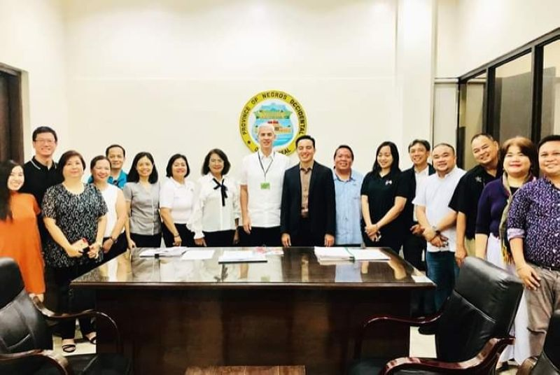 BACOLOD. Members of the Provincial Tourism Planning Committee with representatives of DOT-Western Visayas meet with Governor Alfredo Eugenio Jose Lacson (center) at the Provincial Capitol in Bacolod City on Tuesday, August 13, 2019. (Contributed Photo)