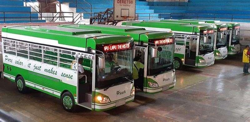 Posibleng managan napud ang mga modern jeepneys og mga bag-ong rota tungod sa hagit sa Land Transportation Franchising and Regulatory Board-Central Visayas (LTFRB 7) nga muapil sa ilang ipahigayon nga bidding karung umaabot nga Agosto 23, 2019. Planong muabli ug bag-ong e-jeepney routes ang LTFRB 7 gikan sa Ayala Center Cebu hangtud sa bukirang barangay sa Guba sa dakbayan sa Sugbo; ug gikan sa lungsod sa Cordova hangtud sa dakbayan sa Lapu-Lapu. (Sunstar file photo)