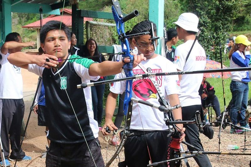 BAGUIO. Aside from basketball, other allied sports such as archery will also see action in the first of the Baguio–Benguet Educational Athletic League (BBEAL) when it opens its 33rd season on October. (Photo by Jean Nicole Cortes)