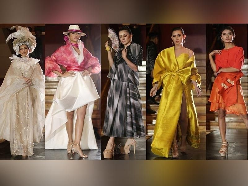 Mindanao inspired designs by Cliff D Torres, Don Pedro Moises, Edwin Uy, Enoc Aliga, Johnny Abad, and Karen Castro. (Contributed photo)