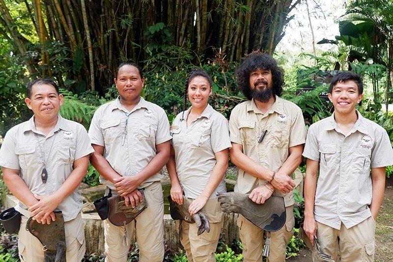 The birdkeepers - Adriano Ocsales, Jessie Mahinay, Lohwana Halaq, Dominic Tadena & Anfrei Flores. (Photo by Jinggoy I. Salvador)