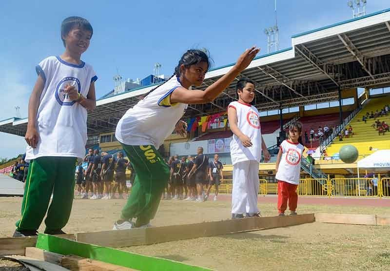SEE YOU NEXT YEAR. Students from different Sped schools in Cebu join the one-day tournament organized by the Quota International of Metro Cebu, which promised to hold a similar event next year.(SunStar File Photo/Arni Aclao)
