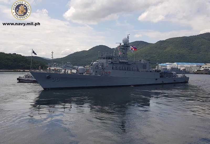 Photo from Philippine Navy