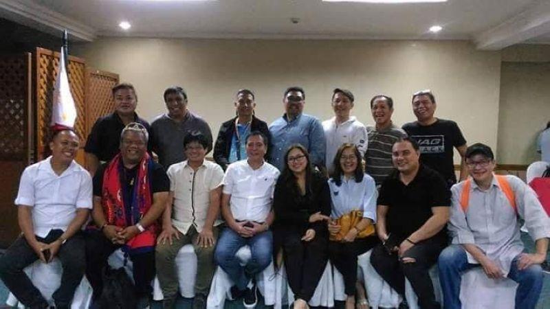 SINULOG. The Sinulog Team 2019, led by artistic director Junjet Primor and program director Cinbeth Orellano, during a meeting with Cebu City Vice Mayor Mike Rama. Pit Senyor!